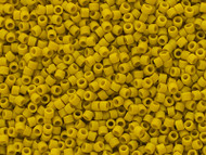 Miyuki Delica Seed Bead size 11/0 Yellow Lemon DB 2283 Frosted Glazed Matte - each