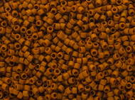 Miyuki Delica Seed Bead size 11/0 Brown Cinnamon DB 2286 Frosted Glazed Matte - each