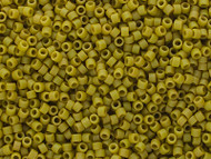 Miyuki Delica Seed Bead size 11/0 Pistacio Green DB 2290 Frosted Glazed Matte - each