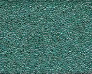 Miyuki Delica Seed Bead size 11/0  Crystal Light Aqua Ceylon Lined Dyed DB 0238 - each