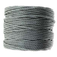 Superlon Grey Heavy Bead Cord Tex 400 35 yards - each