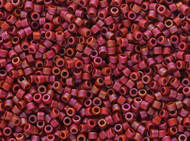 Miyuki Delica Seed Bead size 11/0 Pink Fuchsia AB DB 2306 Frosted Glazed Rainbow Matte - each
