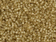 Miyuki DelicaSeed Bead Size 11/0 Light Honey Opal Silver Lined DB1458
