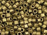 Miyuki DelicaSeed Bead Size 11/0 Matte Metallic Gold DB0322