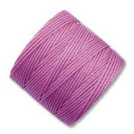Superlon Light Orchid Fine Bead Cord Tex 135 118 yards - each