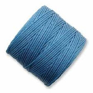 Superlon Carolina Blue Heavy Bead Cord Tex 400 35 yards - each