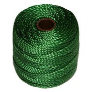Superlon Green Heavy Bead Cord Tex 400 35 yards - each