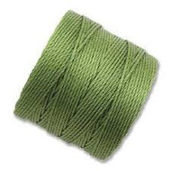 Superlon Peridot Heavy Bead Cord Tex 400 35 yards - each