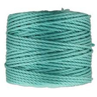 Superlon Turquoise Heavy Bead Cord Tex 400 35 yards - each