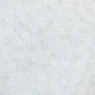 Miyuki Round Seed Bead Size 8/0 Crystal Transparent SB 0131 (51611)