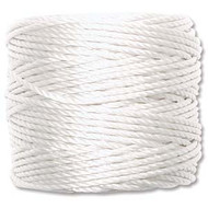 Superlon White Heavy Bead Cord Tex 400 35 yards - each