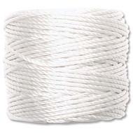 Superlon White Heavy Bead Cord Tex 400 35 yards - Each (63030)