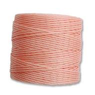 Superlon Coral Pink Bead Cord Tex 210 77 yards - each