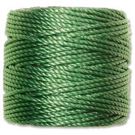 Superlon Green Bead Cord Tex 210 77 yards - each