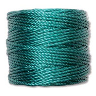Superlon Teal Bead Cord Tex 210 77 yards - each