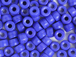 Crow Bead Glass Royal Blue Opaque 6mm - bag
