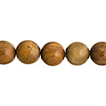 "Brazilian Sandalwood 8mm round beads by the 8"" strand"