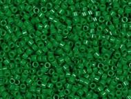 Miyuki Delica Seed Bead size 11/0 Green Jade Opaque Dyed DB 0656