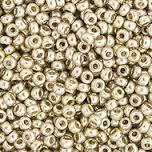 Miyuki Round Seed Bead Size 15/0 Silver Duracoat Galvanized SB 4201