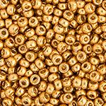 Miyuki Round Seed Bead Size 8/0 Gold Galvanized Duracoat SB 4202