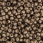 Miyuki Round Seed Bead Size 8/0 Pewter Galvanized Duracoat SB 4222