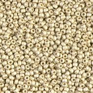 Miyuki Round Seed Bead size 11/0 Silver Matte Duracoat SB 4201F