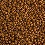 Miyuki Round Seed Bead Size 11/0 Nutmeg Opaque Duracoat SB 4460