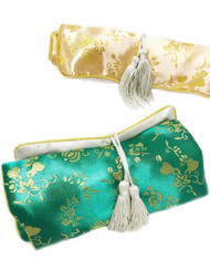 "Brocade Jewelry Roll-Up 7""x4.5"" - each"