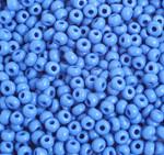 Preciosa Pony Bead Size 6/0 Opaque Medium Blue 500g Bag - each