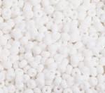 Preciosa Pony Bead Size 6/0 Opaque White 500g Bag - each