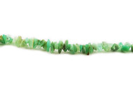 "Chrysophrase Chip Beads 16"" - by the strand"