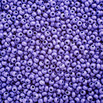 Preciosa Seed Bead Size 10/0 Opaque Dyed Violet 500g bag - each