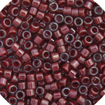 Miyuki Delica Seed Bead size 11/0 Dark Crystal Red Lined-Dyed DB 0280