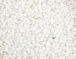 Miyuki Delica Seed Bead size 11/0 White Matte 50g bag DB 0351