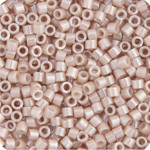 Miyuki Delica Seed Bead size 11/0 Pink Champagne Ceylon Opaque DB 1535