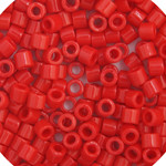 Miyuki Delica Seed Bead size 10/0 Red Opaque DB 0723