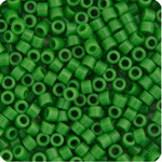 Miyuki Delica Seed Bead size 10/0 Green Pea Opaque DB 0724