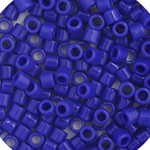 Miyuki Delica Seed Bead size 10/0 Cobalt Blue Opaque DB 0726