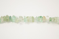 Rainbow Fluorite Bead Chips Large - by the strand