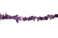 "Amethyst Bead Chips A Grade 16"" - by the strand"