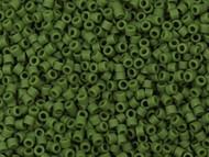 Miyuki Delica Seed Bead size 11/0 Green Avocado Opaque Matte DB 1585