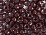 Crow Bead - Glass Opaque Chocolate 9mm - bag