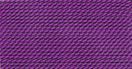 Griffin Nylon Polythread Amethyst Size 4 0.60mm 2 meter card