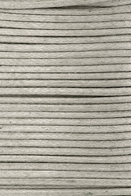 Waxed Cotton Cord 1.5mm Zinc - 25m spool