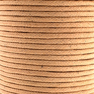 Waxed Cotton Cord 1.5mm Natural - 25m spool