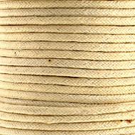 Waxed Cotton Cord 1.5mm Ivory - 25m spool