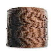 Superlon Brown Bead Cord Tex 210 77 yards - each