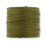 Superlon Olive Fine Bead Cord Tex 135 118 yards - each