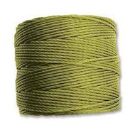Superlon Chartreuse Fine Bead Cord Tex 135 118 yards - each