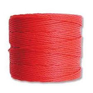 Superlon Bright Coral Pink Bead Cord Tex 210 77 yards - each